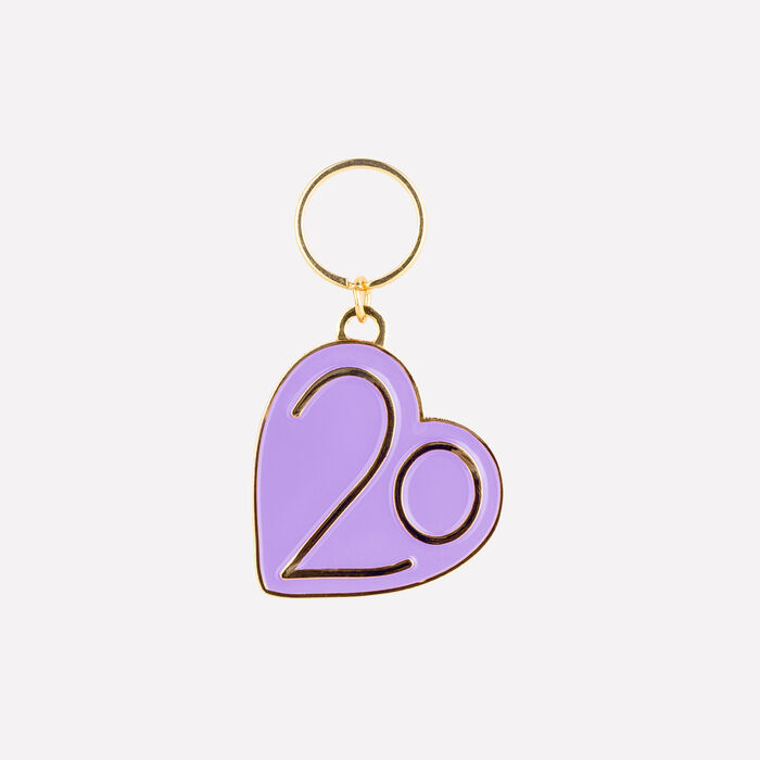 Keyrings X 20 years : See all color Purple