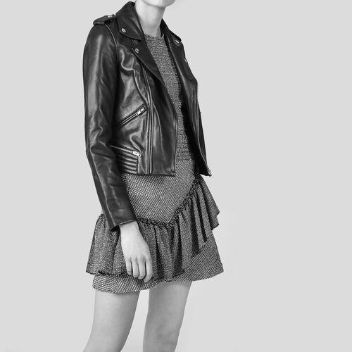 Frilled jacquard skirt - Skirts & Shorts - MAJE