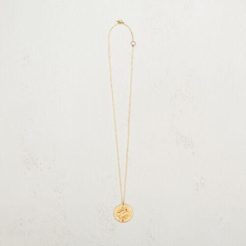 Pisces zodiac sign necklace - Jewelry - MAJE