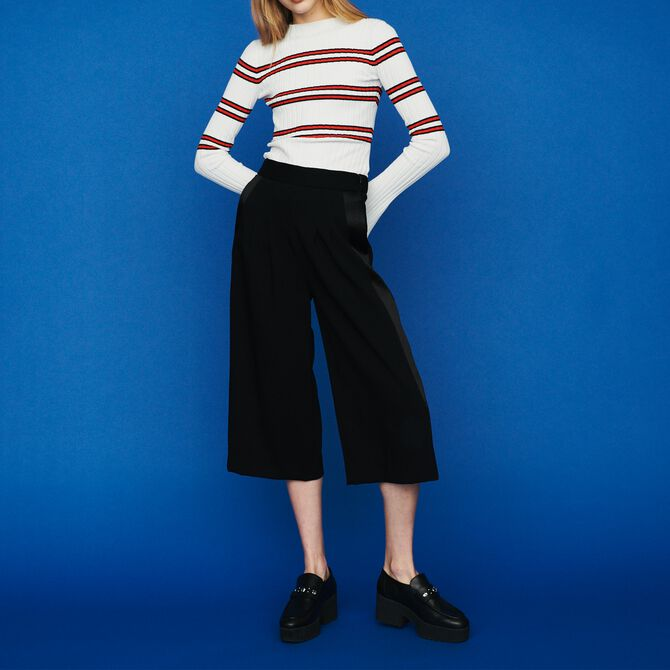 Large trousers in crepe - See all - MAJE