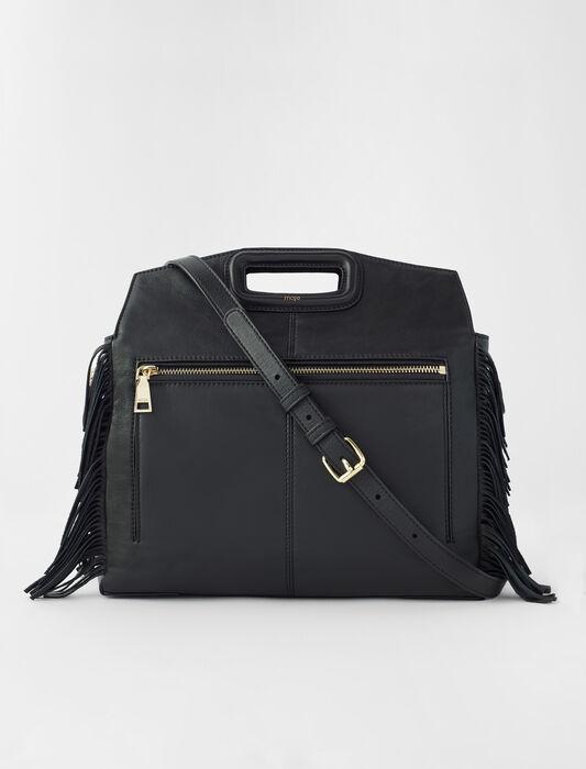 Leather M Walk bag : Shoulder bags color Black