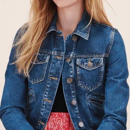 Denim jacket - Blazers - MAJE