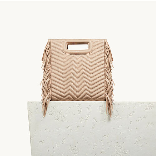 Quilted leather M bag - Mid Season Sales - MAJE