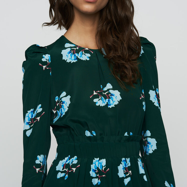 Short floral-print dress : Jumpsuits color PRINTED