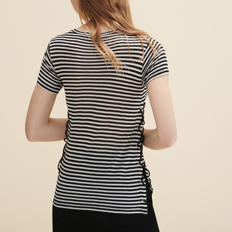 Sailor T-shirt with braiding - See all - MAJE