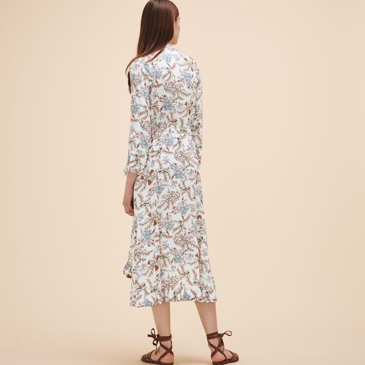 Long printed dress - See all - MAJE
