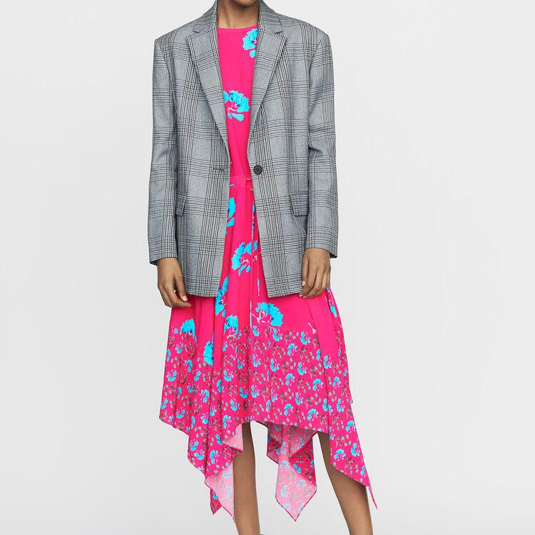 Suit jacket : New Collection color CARREAUX