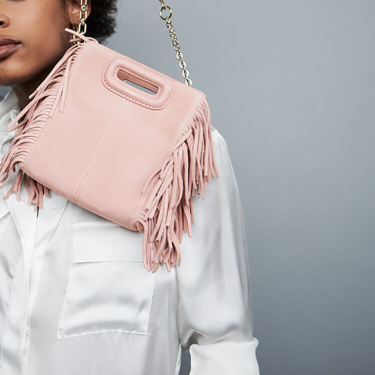M mini-bag with chain : Bags color