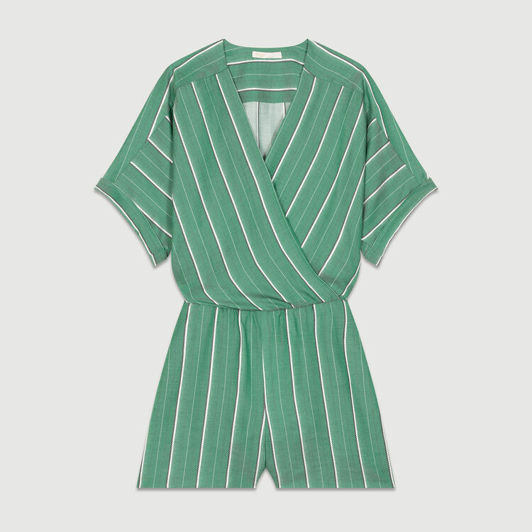 Striped romper : Jumpsuits color Stripe