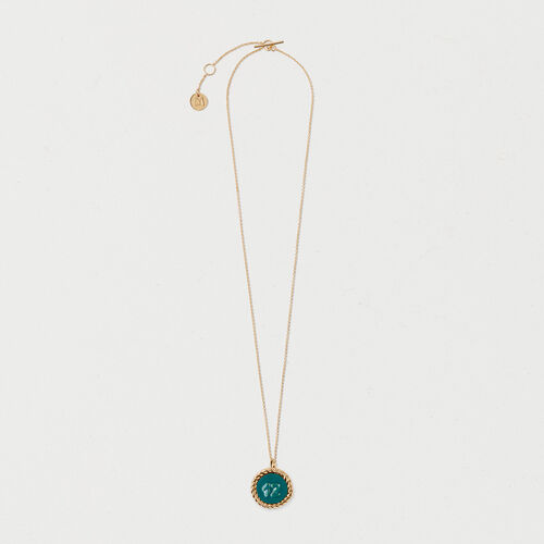 Number 12 medallion - Jewelry - MAJE