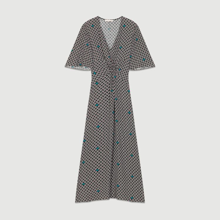 Maxi print dress : Dresses color PRINTED