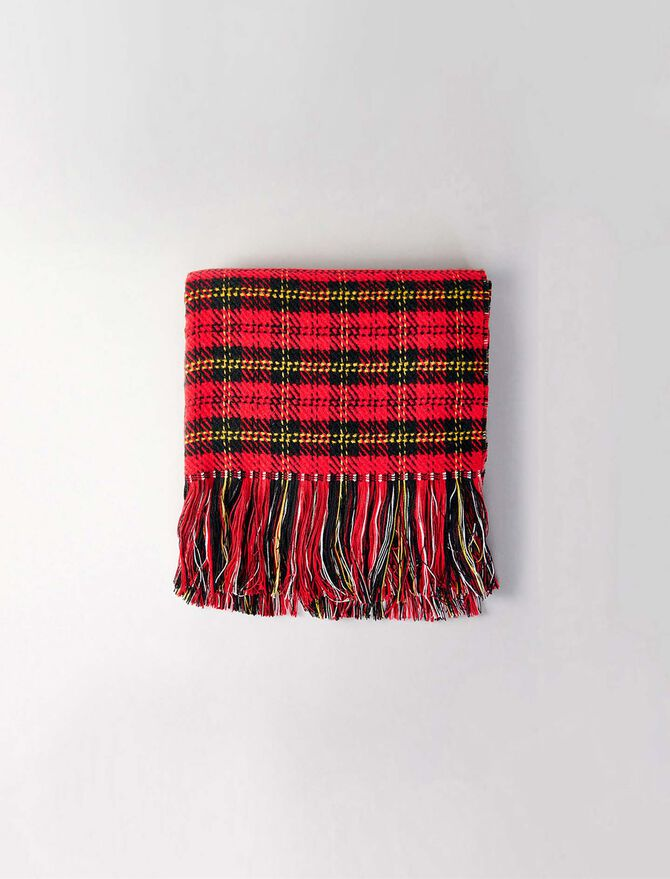 Whool-blend scarf -  - MAJE