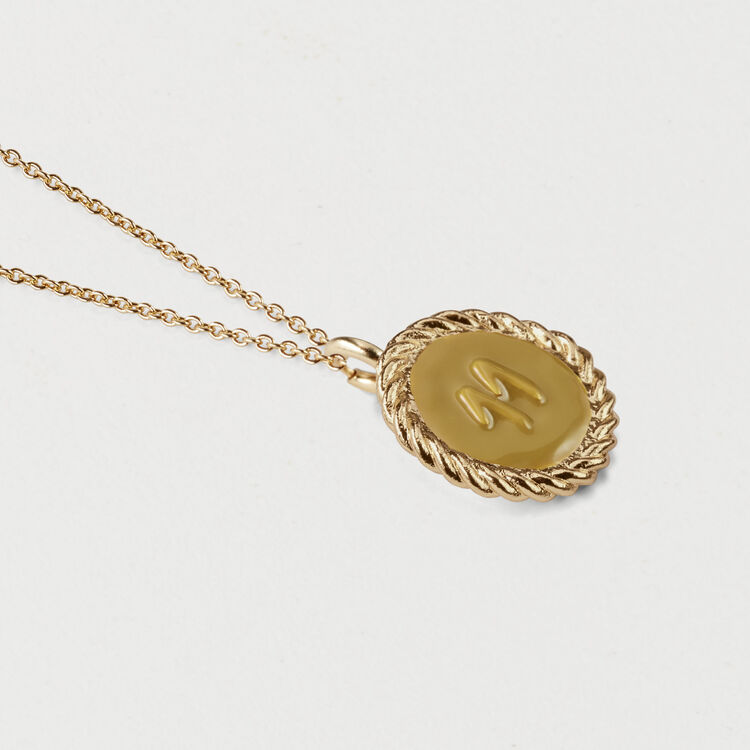 Number 11 medallion : Accessories color GOLD