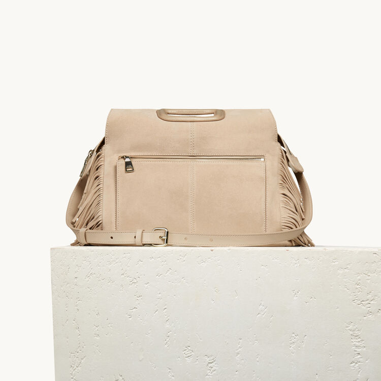 Suede M Walk bag - See all - MAJE