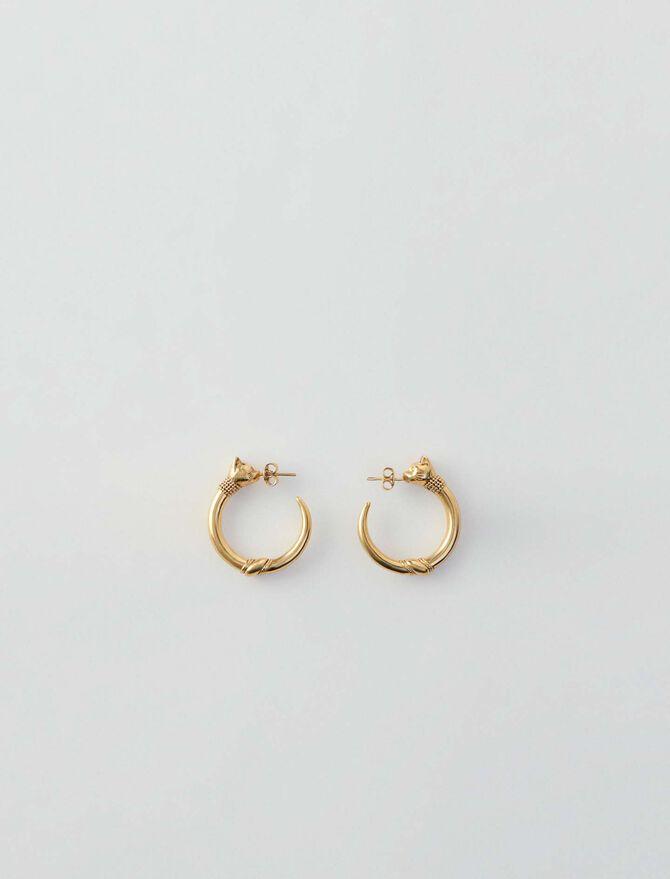 Cat hoops - Jewelry - MAJE