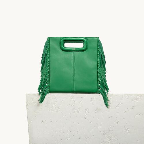 Lambskin M bag - Mid Season Sales - MAJE