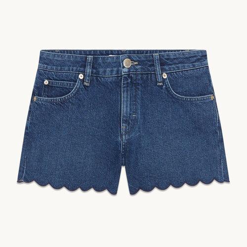 Denim shorts - null - MAJE