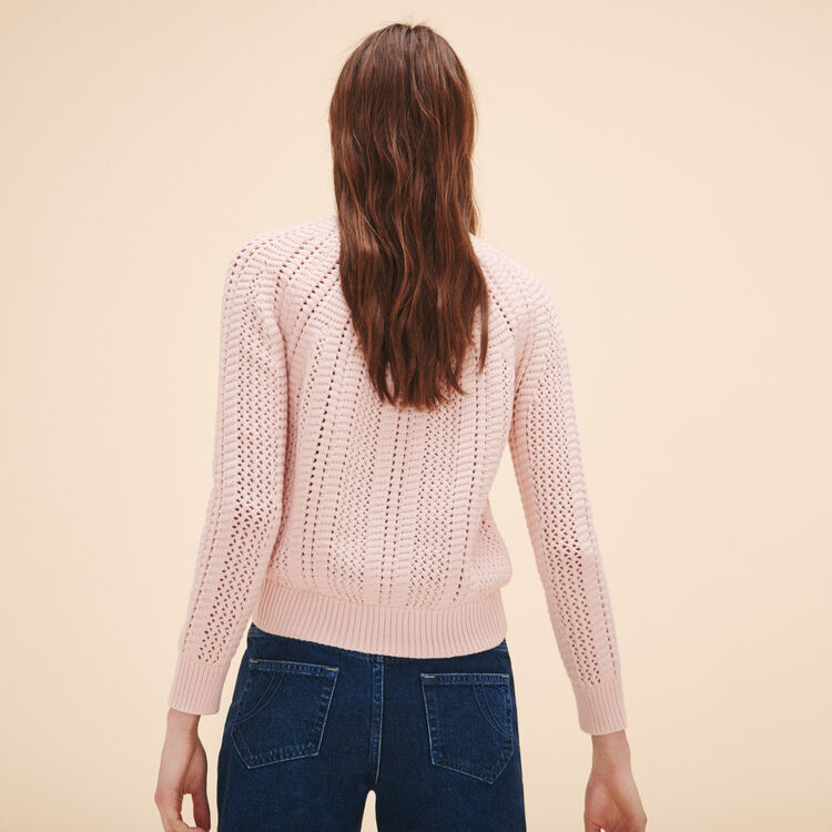 Openwork knit jumper - See all - MAJE