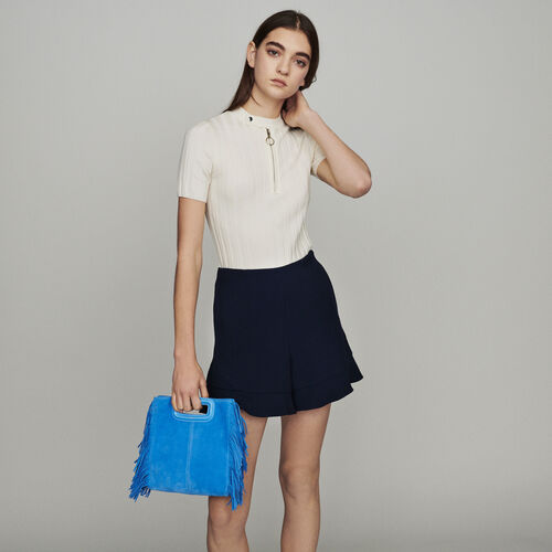 Ruffle shorts : Skirts & Shorts color Navy