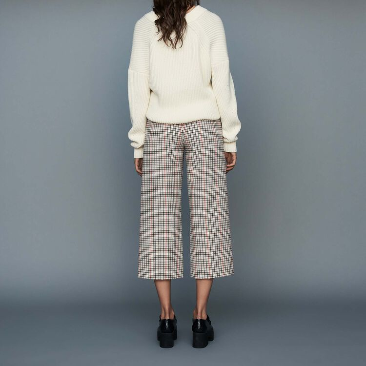 Plaid pants : Trousers color CARREAUX