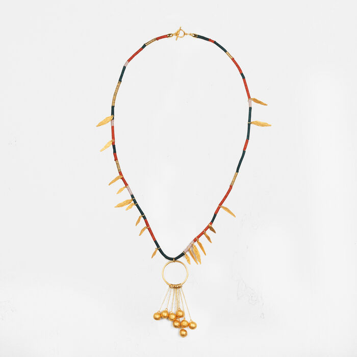 Necklace with pendants -  - MAJE