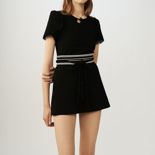 Jersey romper : Skirts & Shorts color Black 210