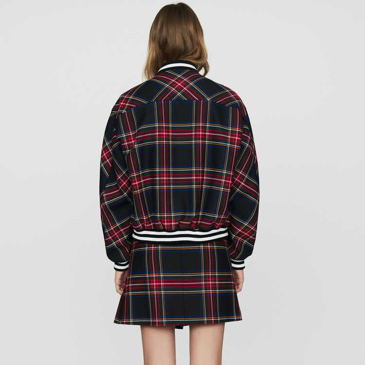 Plaid teddy : Tartan color CARREAUX