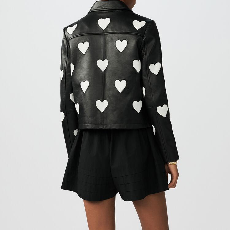 Leather jacket love : Jackets color Black 210