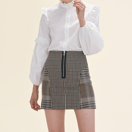 Checked skirt - Skirts & Shorts - MAJE