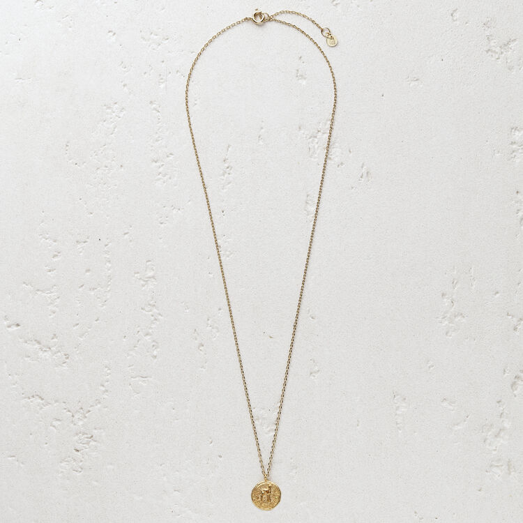 "Necklace ""Ma biche"" in gold plated : Jewelry color GOLD"