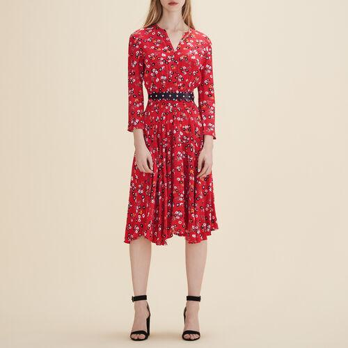 Printed midi dress : Dresses color PRINTED
