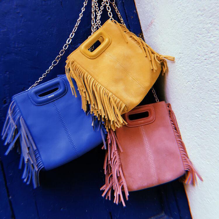 M mini-bag with chain : M Mini color Pink