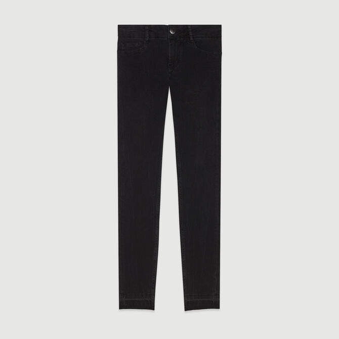 Skinny jeans in stretch cotton - Trousers & Jeans - MAJE