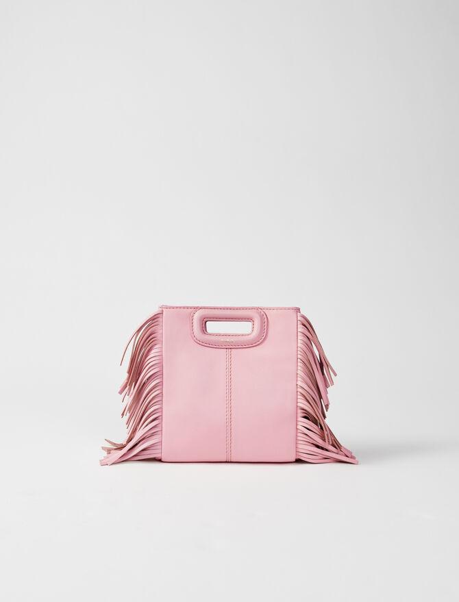 Leather mini M bag -  - MAJE