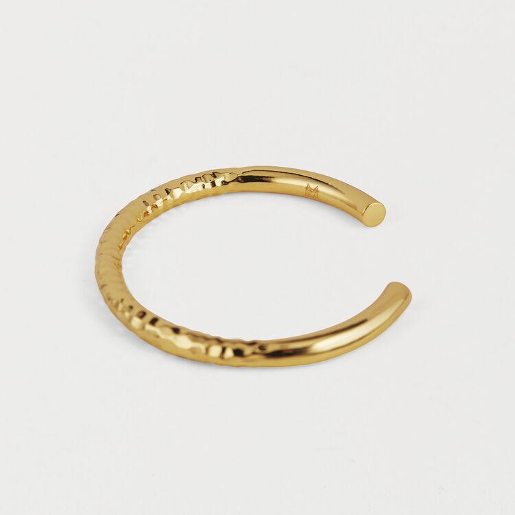 "Wednesday ""Semainier"" Bangle : Jewelry color GOLD"