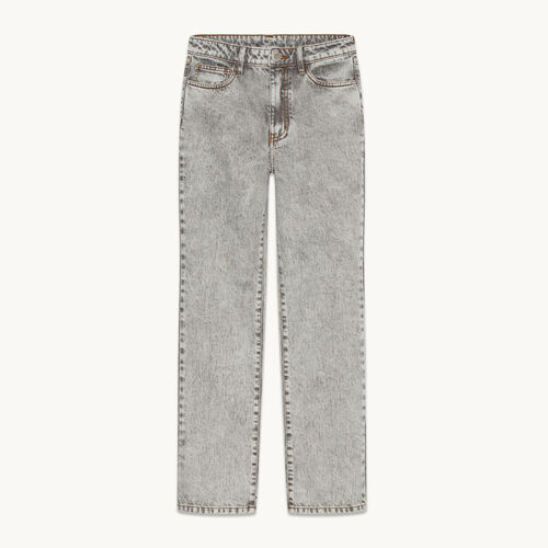 Faded skinny jeans - null - MAJE