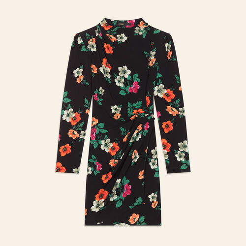 Robe portefeuille imprimée : Dresses color Print