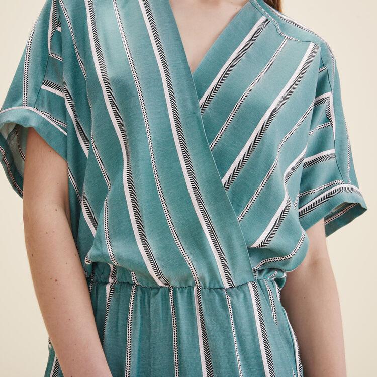 Jacquard jumpsuit - Summer Collection - MAJE