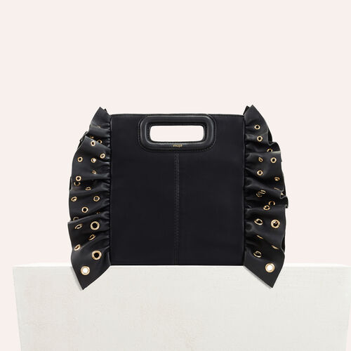 Frilled M bag : Sale Preview color Black 210