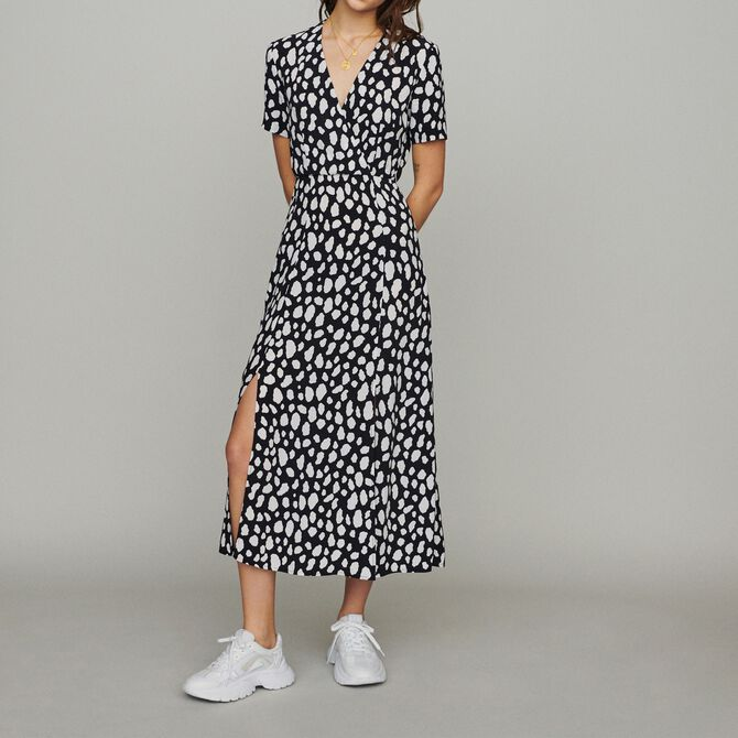 Long printed dress - Présoldes-Best-ES - MAJE