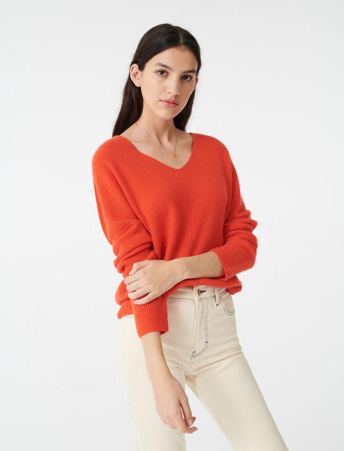 Cashmere sweater - Knitwear - MAJE