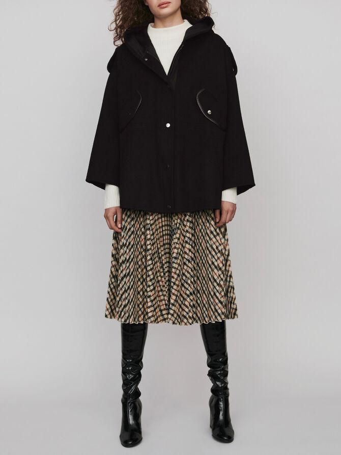 Double face cape coat - Jackets & Blazers - MAJE