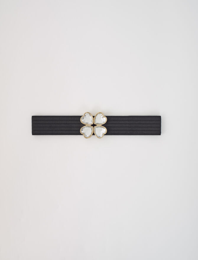 Elasticated belt with jewel fastening - This week - MAJE