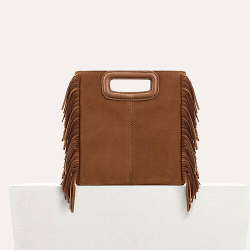 Suede M bag : M bags color Black 210