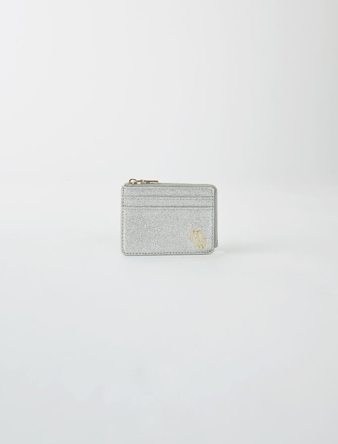 Double M glitter card holder - Gift finder - MAJE
