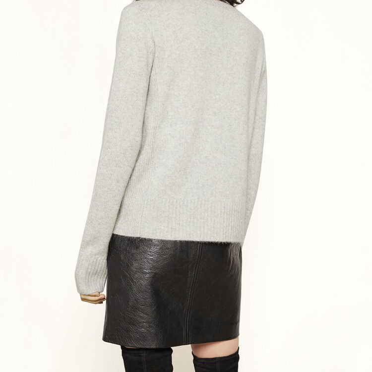 Cashmere jumper : Ma mère color China Grey