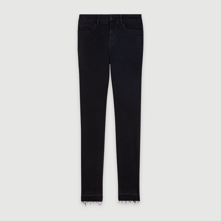 Basic skinny jeans : Trousers & Jeans color Anthracite