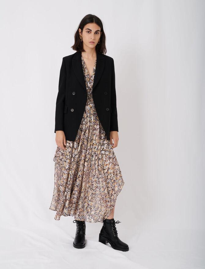 Buttoned suit jacket - Blazers - MAJE
