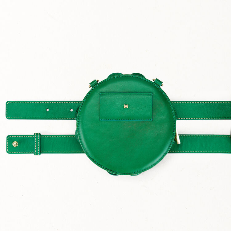Clover shape crossbody mini bag : See all color Green