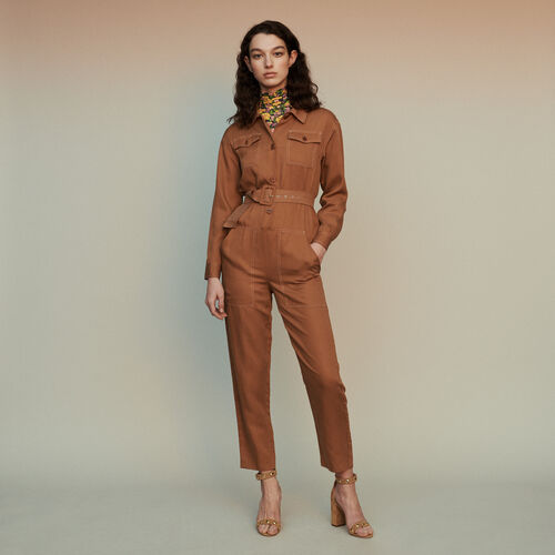 Shirt jumper : Trousers color Terracota